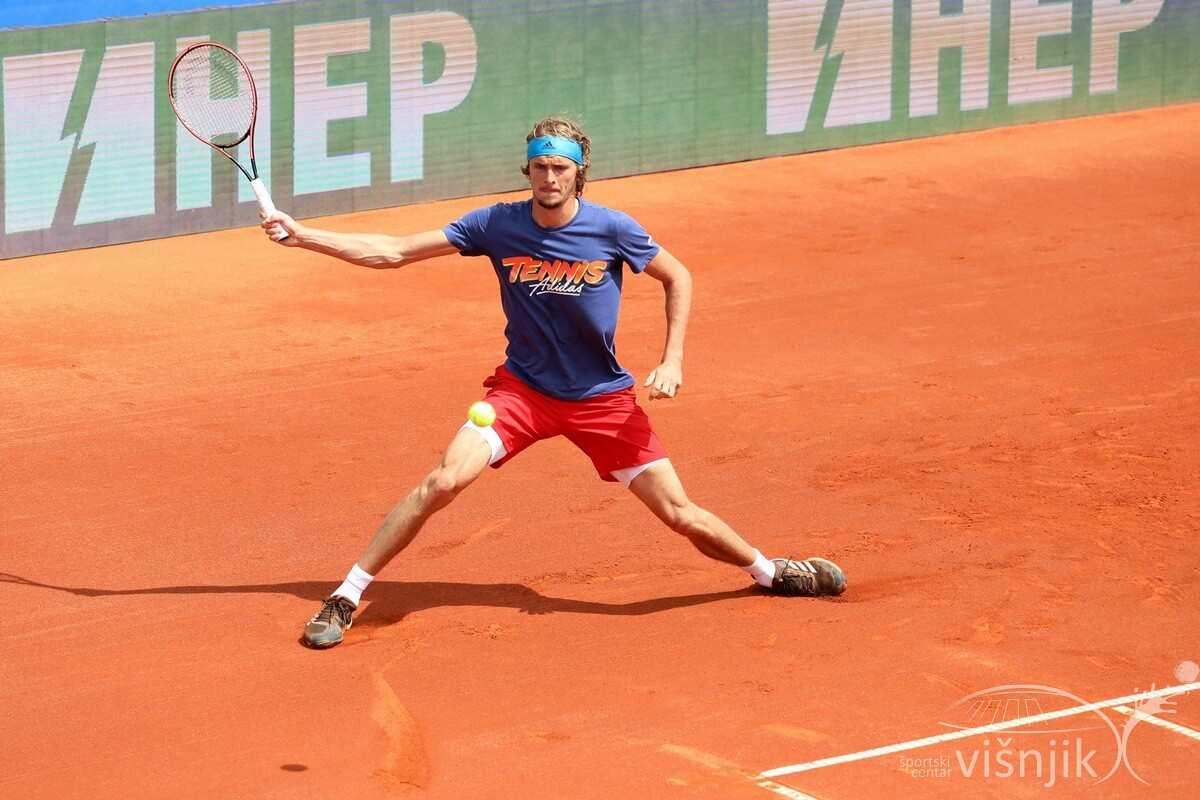 djokovic zverev tenis adria tour trening 18 06 2020 21 - FOTO Trening Novaka Đokovića i Aleksandera Zvereva na Višnjiku